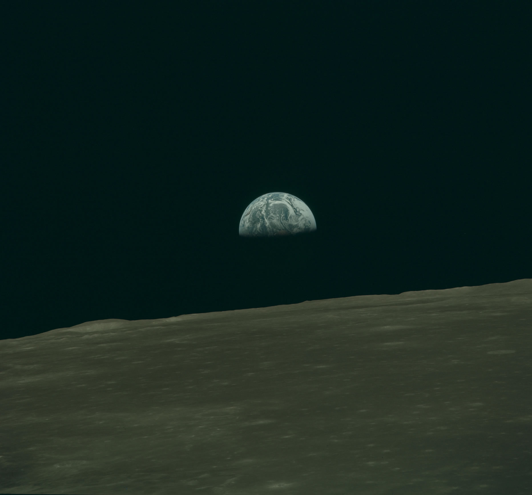 Apollo 10 Earth Rise