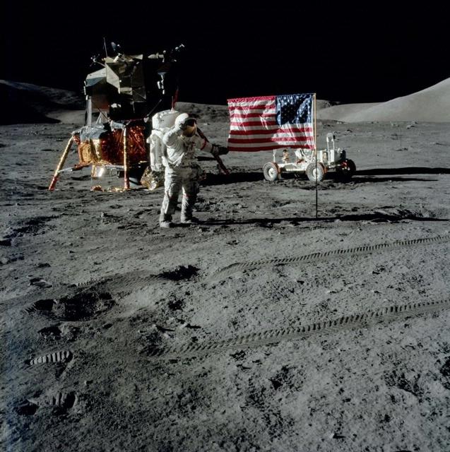Apollo 17 Commander Gene Cernan