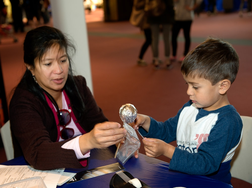 Hands-on activities at the museum