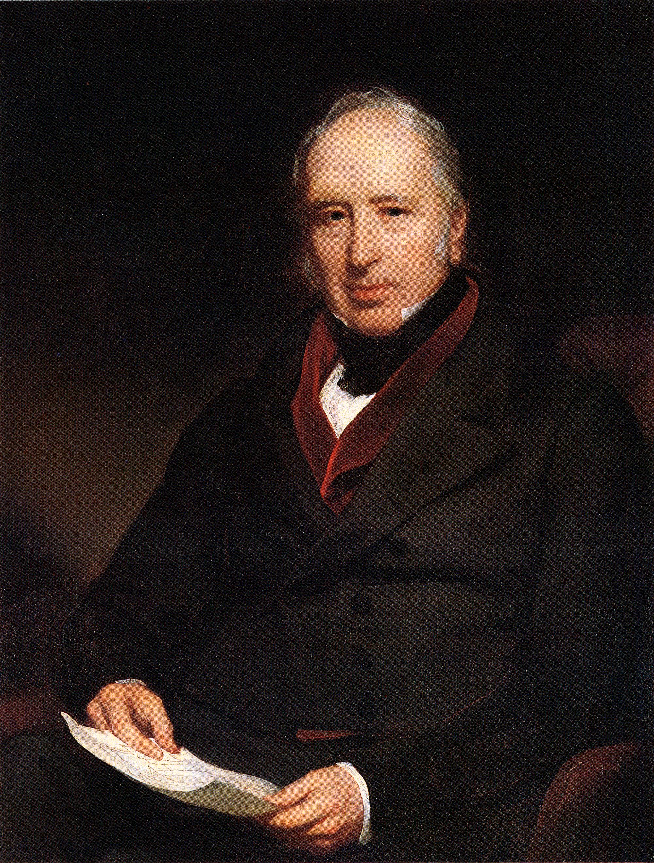 Portrait Of Sir George Cayley 1773 1857