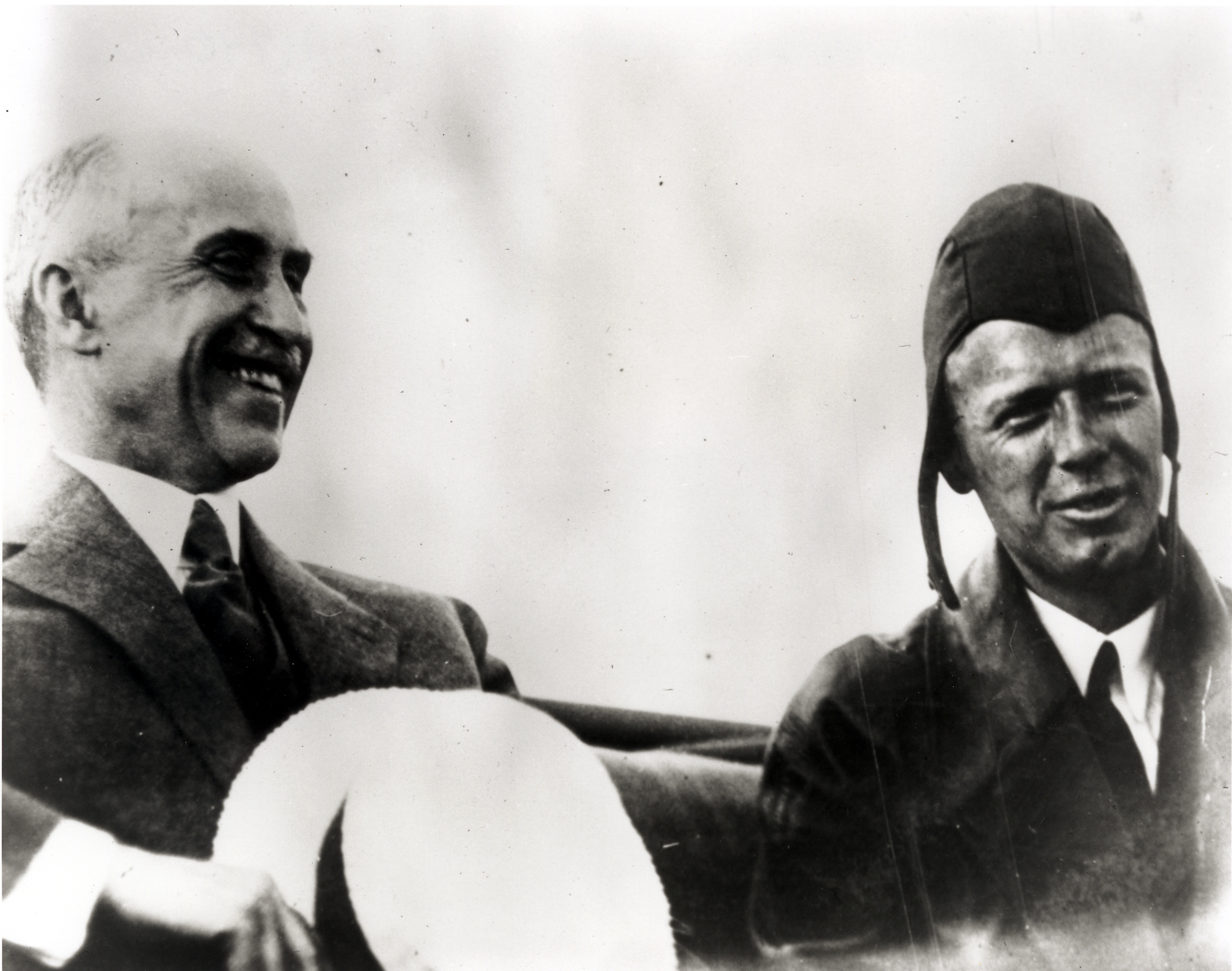 Lindbergh with Orville