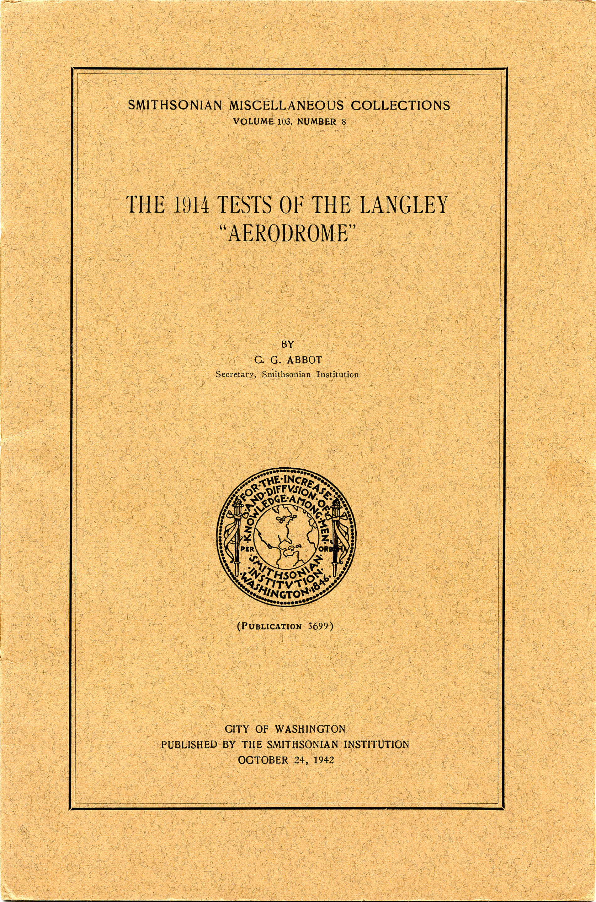 Smithsonian 1942 annual report