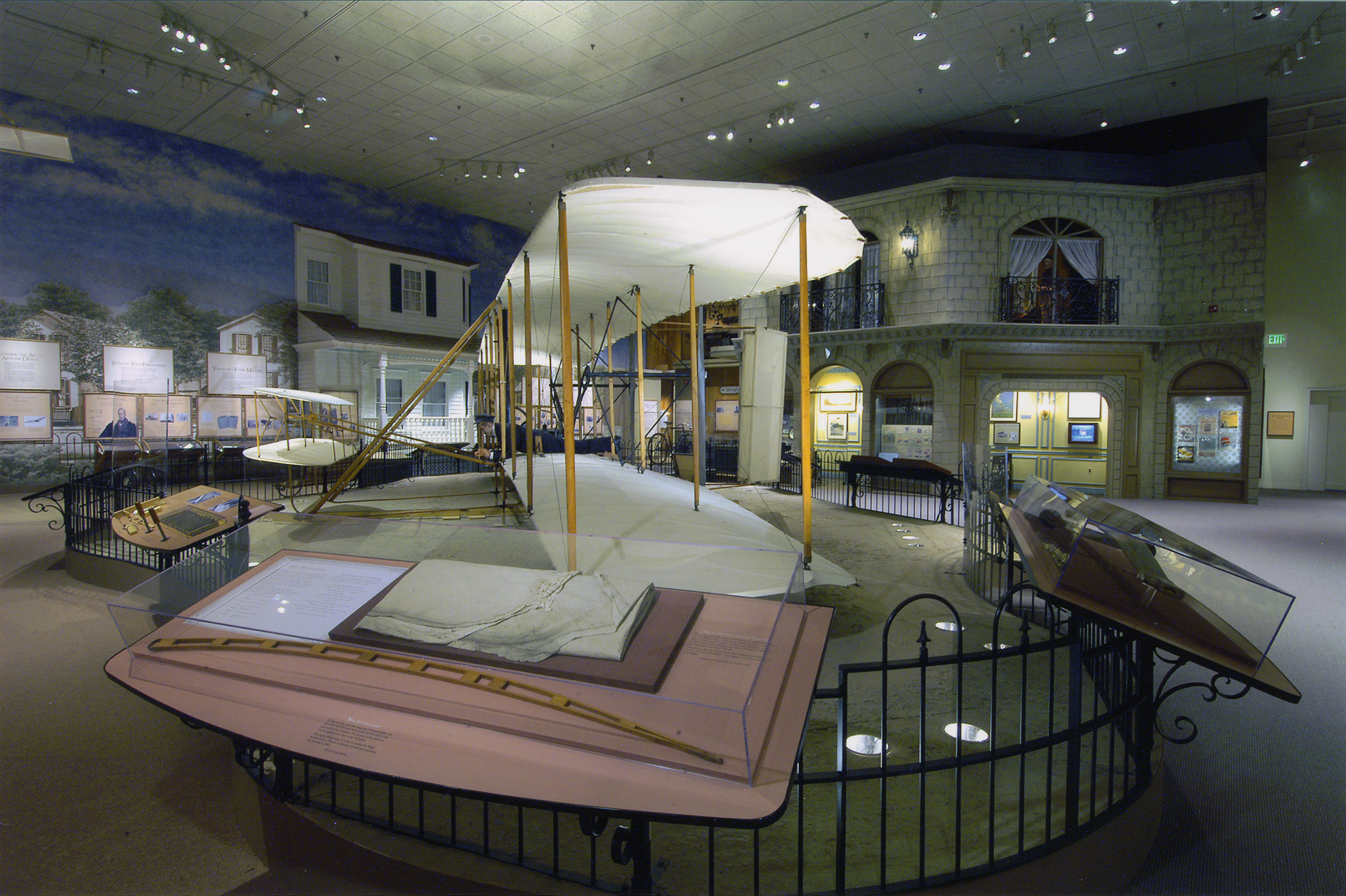 1903 Wright Flyer on Display