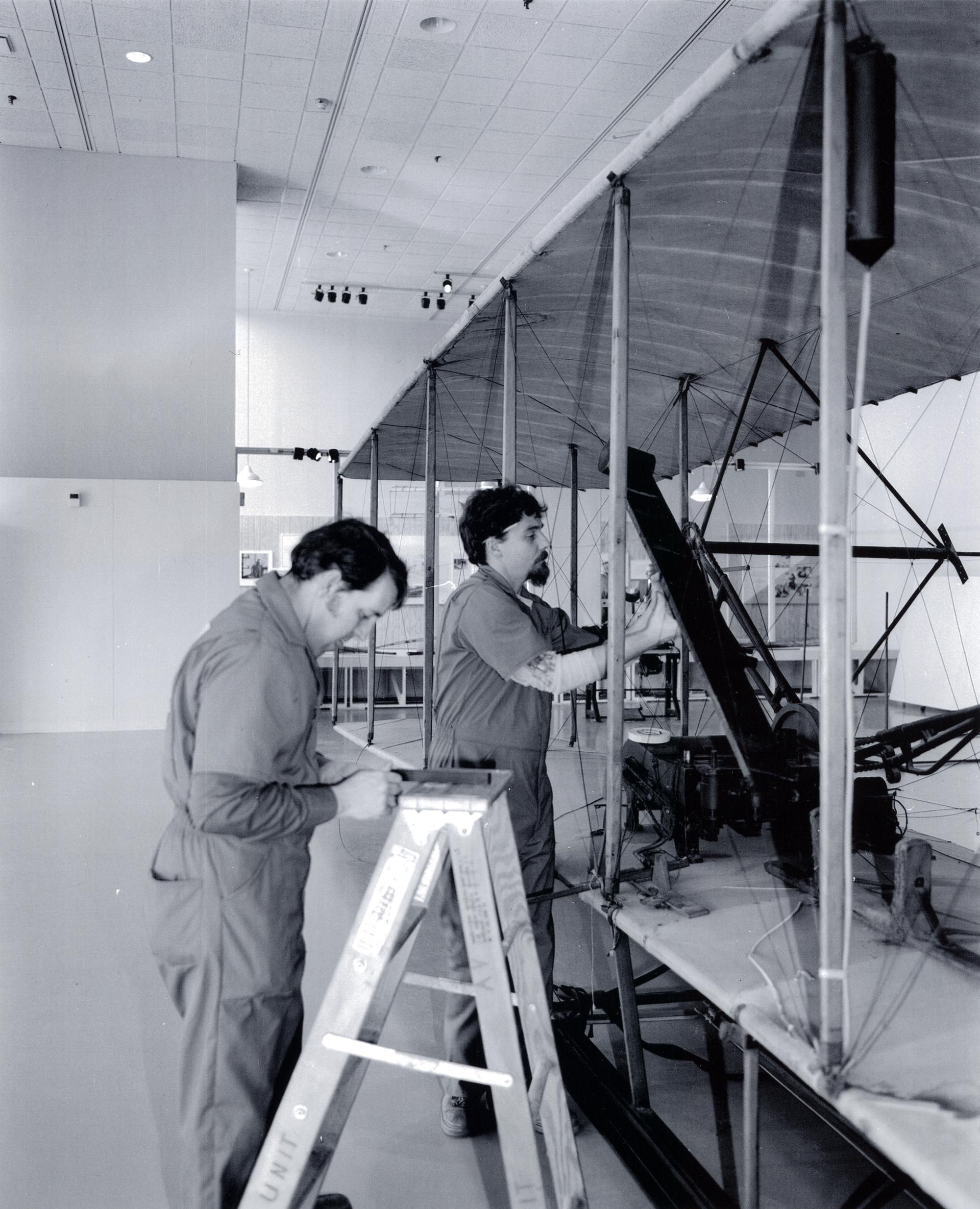NASM Wright Flyer restoration