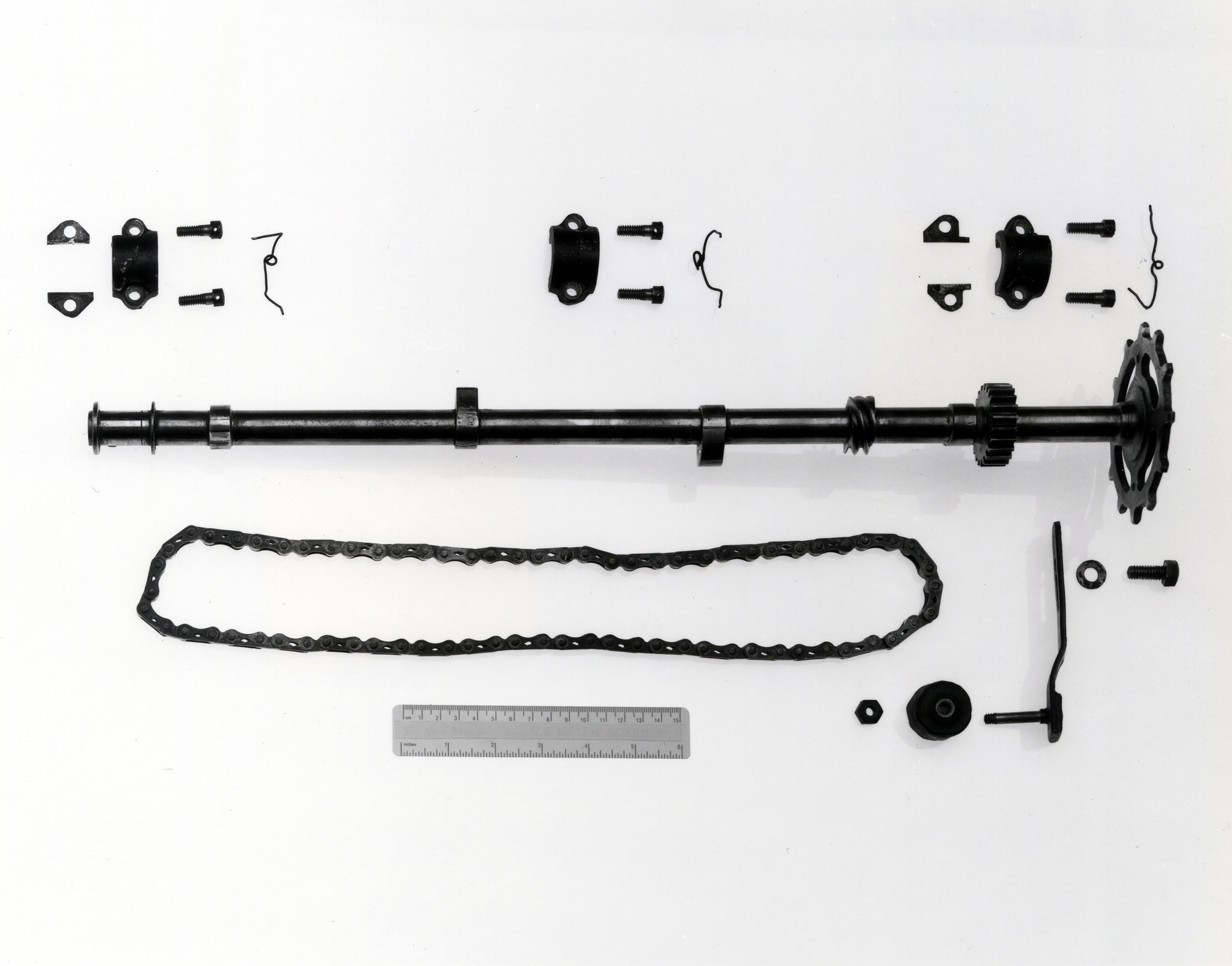 Wright Flyer engine components