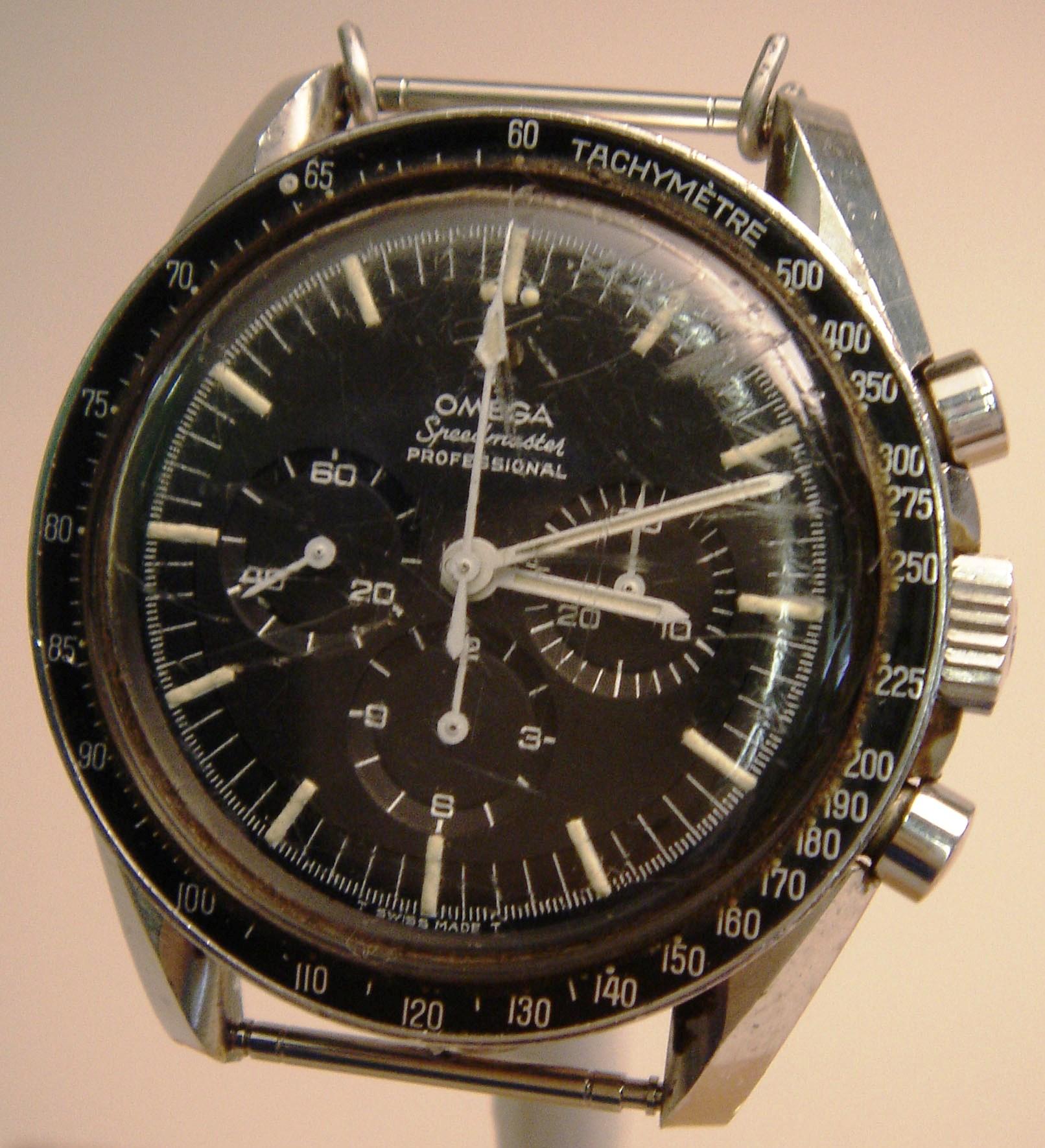 Frank Borman's chronograph