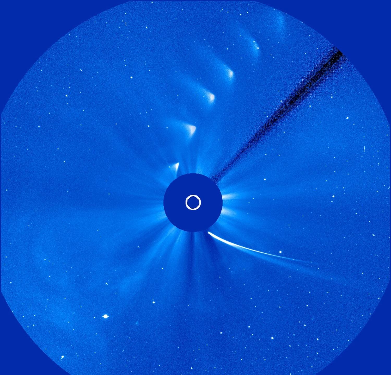 Comet ISON's Death Dive