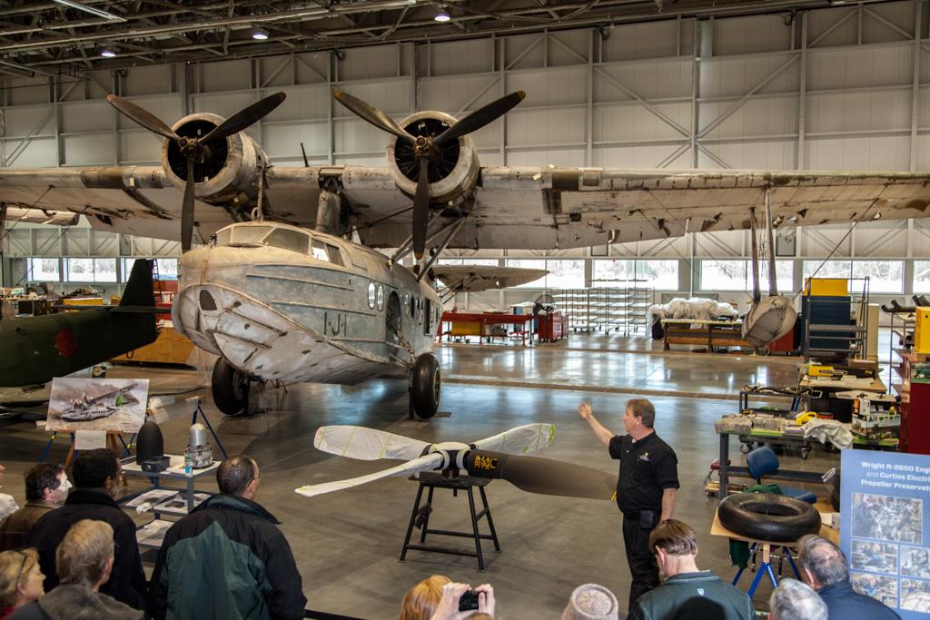 Sikorsky JRS-1 in Mary Baker Engen Restoration Hangar