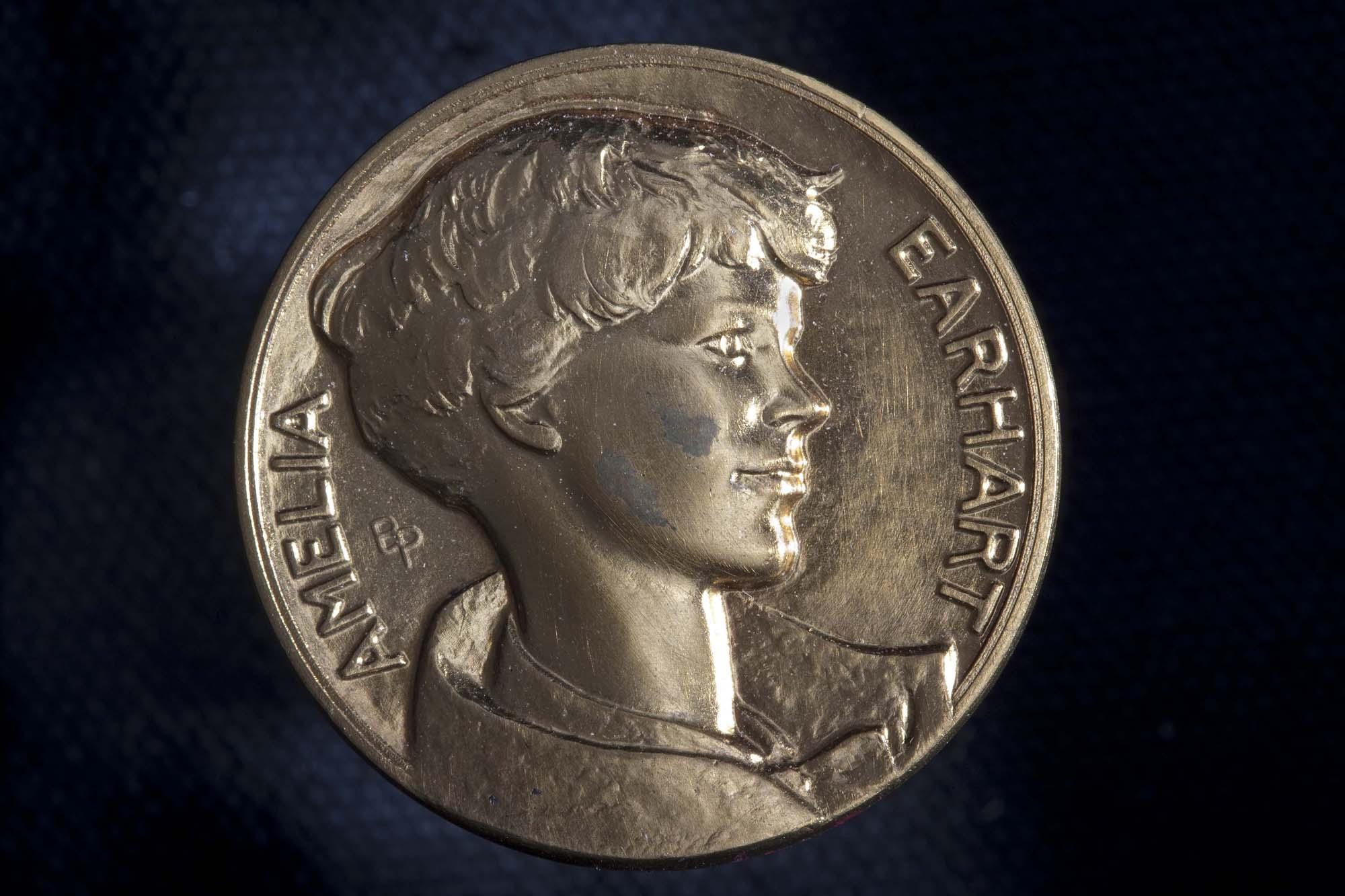 Amelia Earhart Medal (Front)