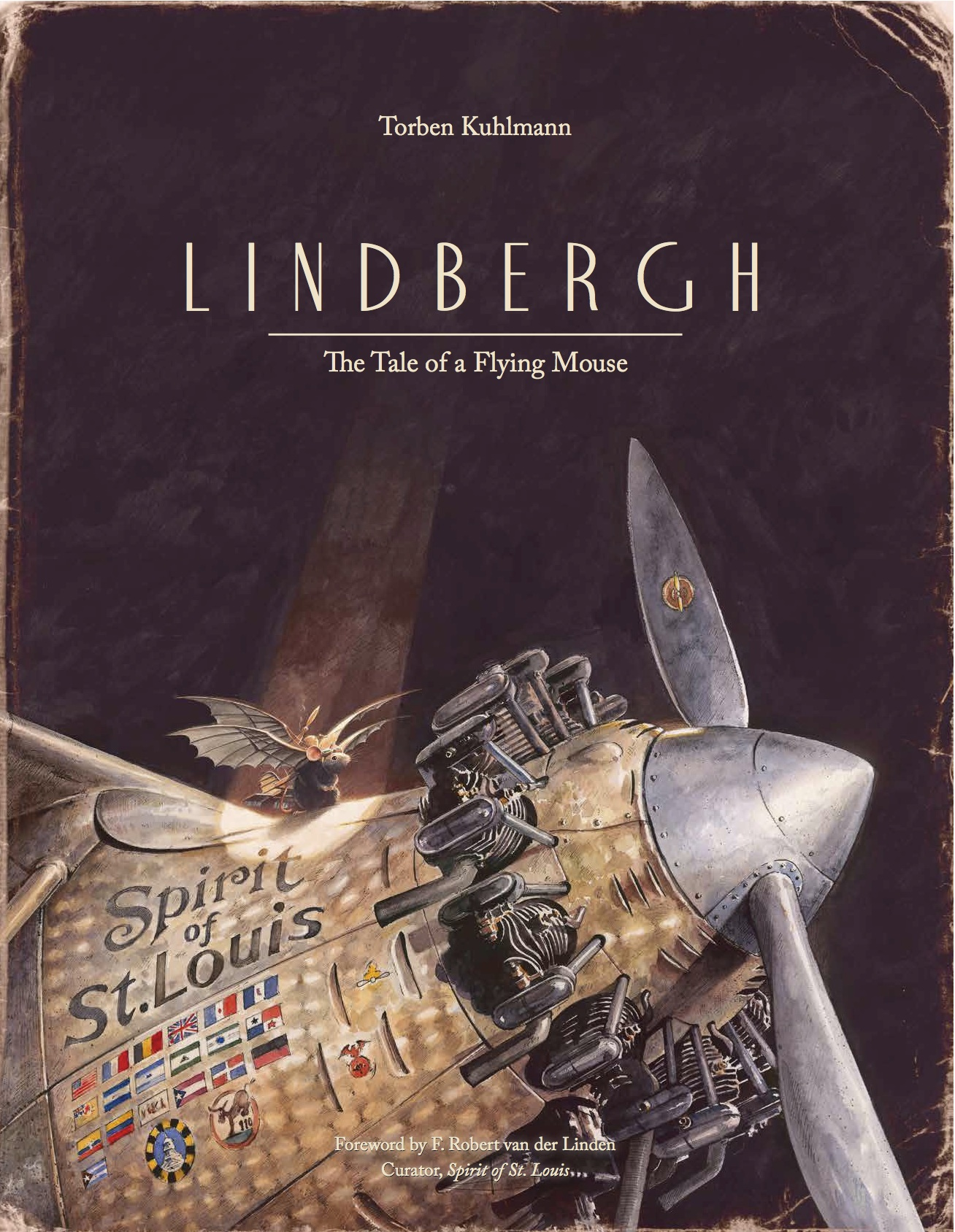 Image result for lindbergh the tale of a flying mouse cover