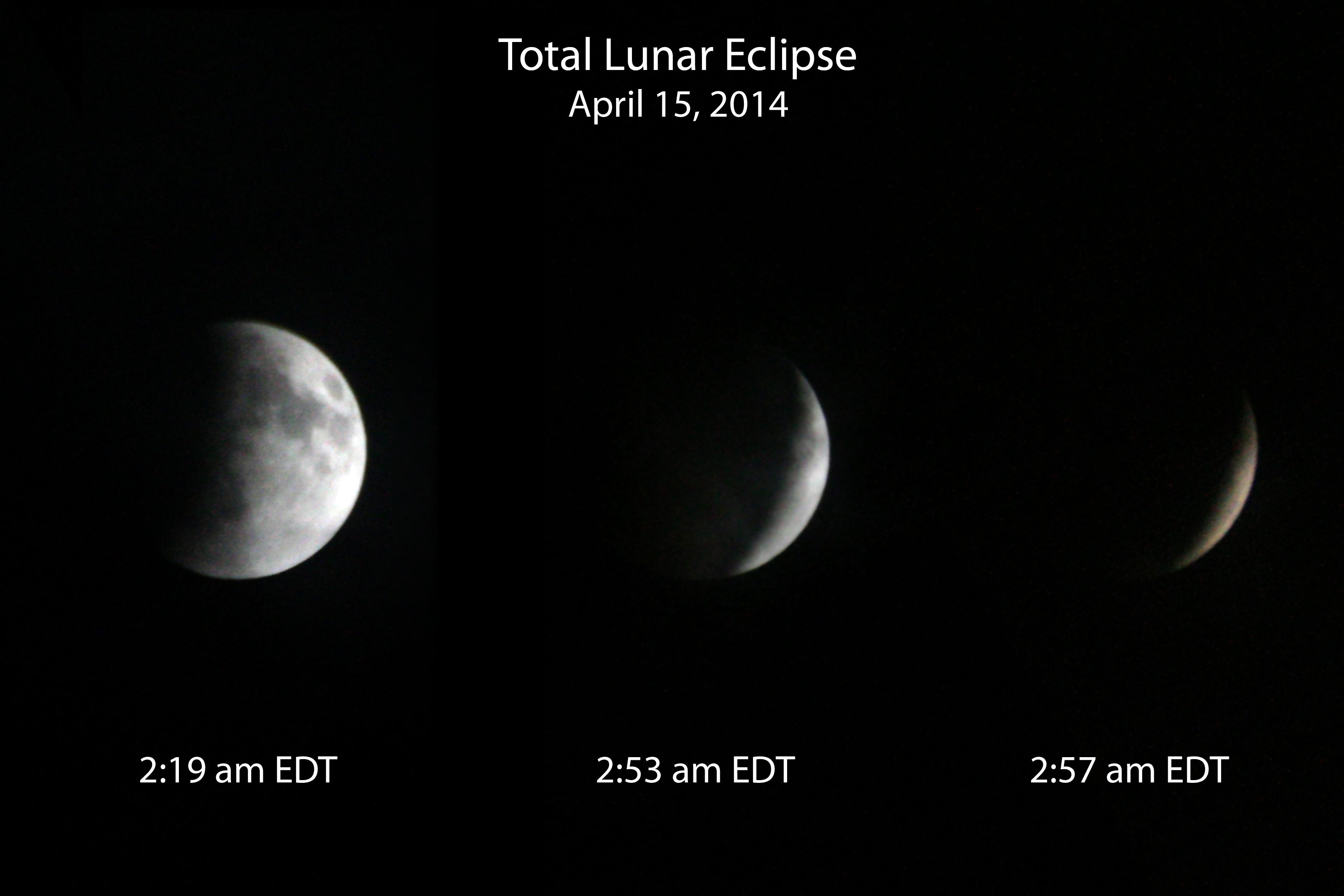Lunar Eclipse - April 15, 2014