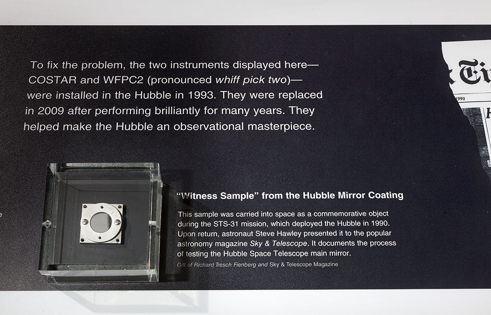 "Hubble ""Witness Sample"""