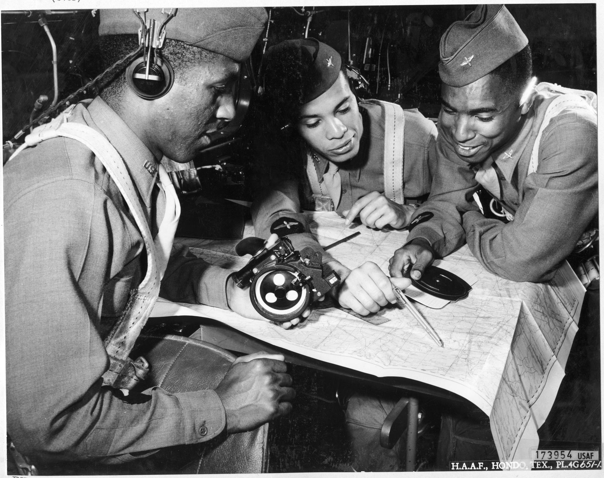 Tuskegee Navigation Cadets