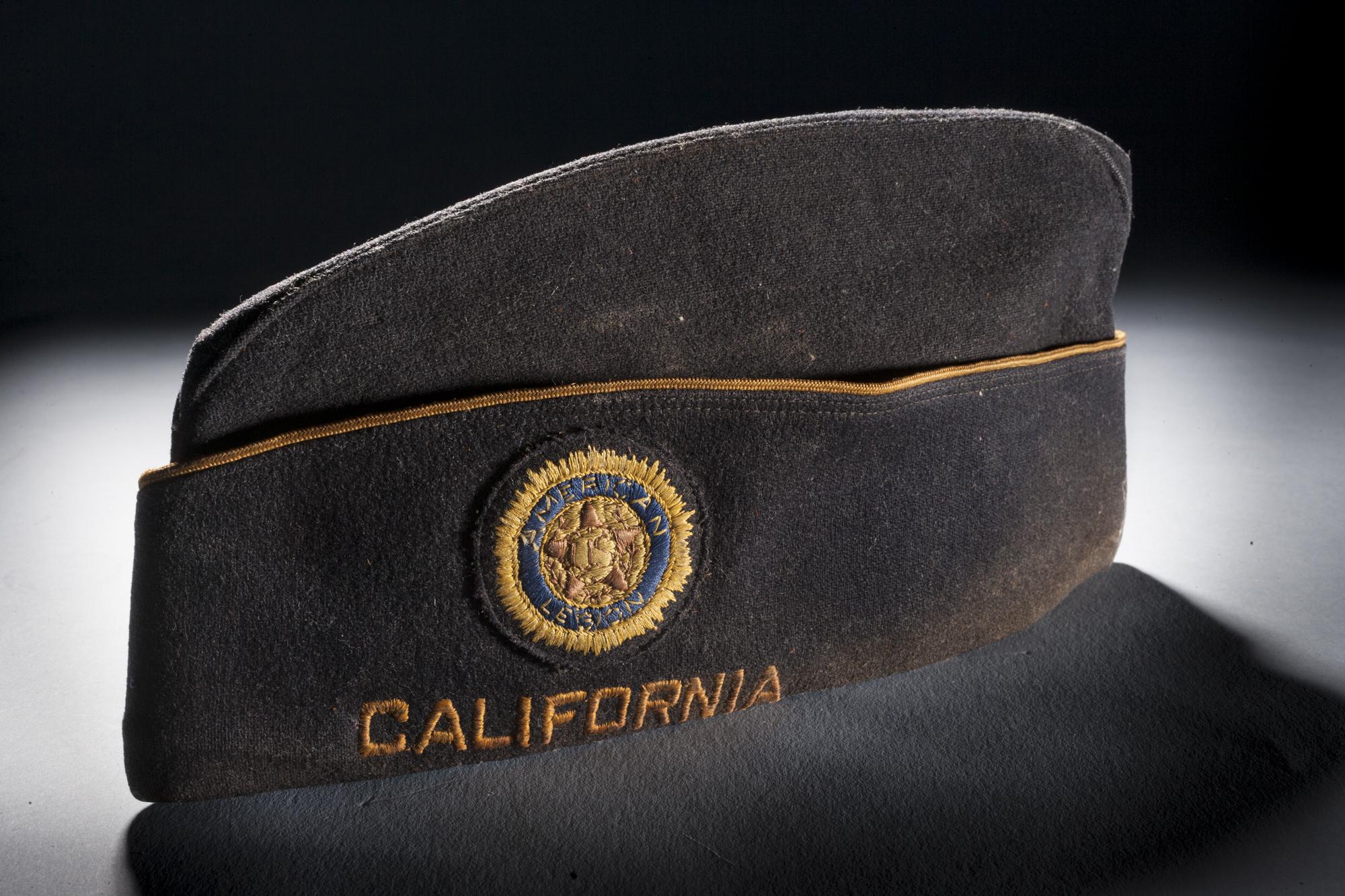 William Powell's American Legion Cap