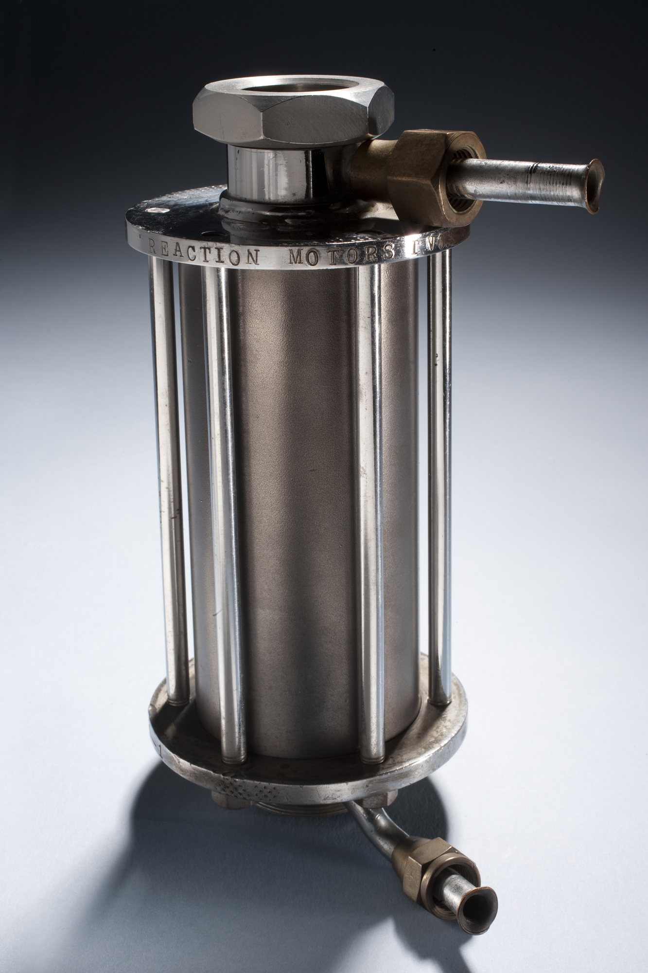 Wyld Regeneratively Cooled Rocket Motor No. 1