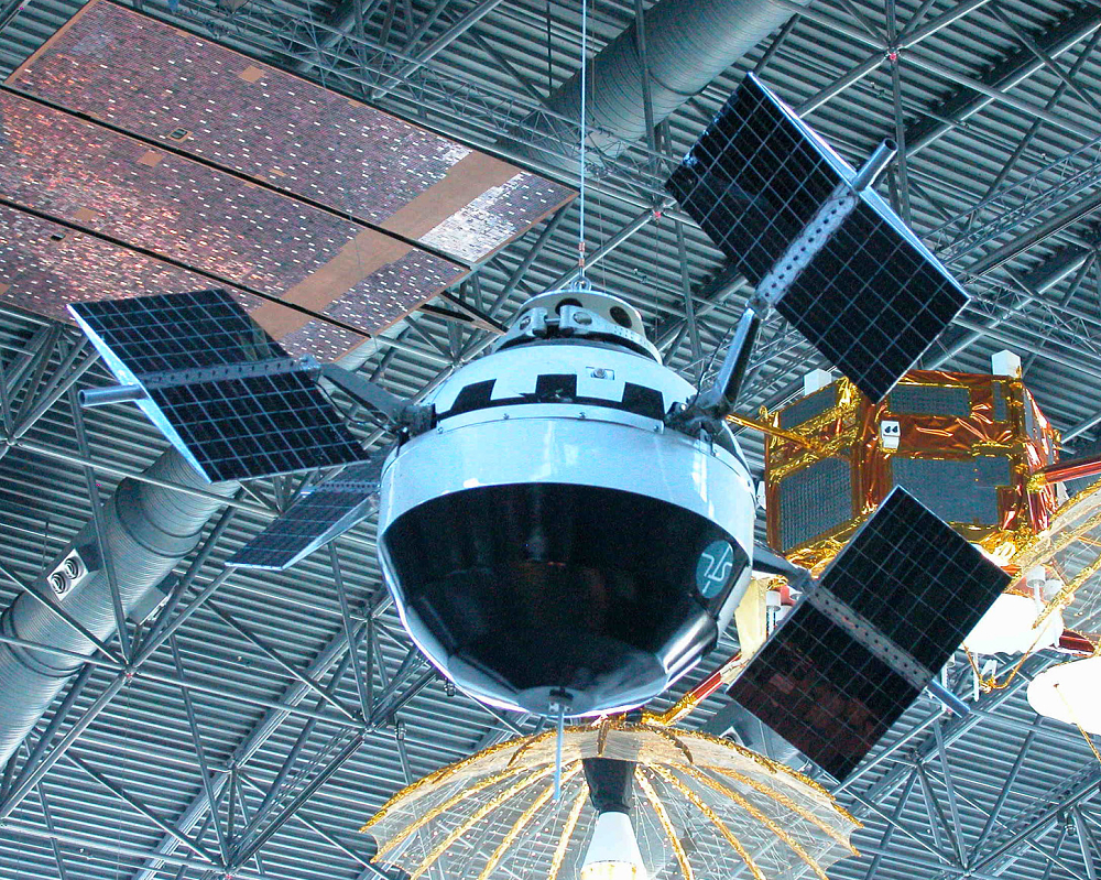Reconstructed Replica of Pioneer V Satellite