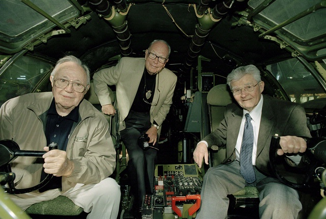 Dutch Van Kirk, Morris R. Jeppson, and Paul W. Tibbets
