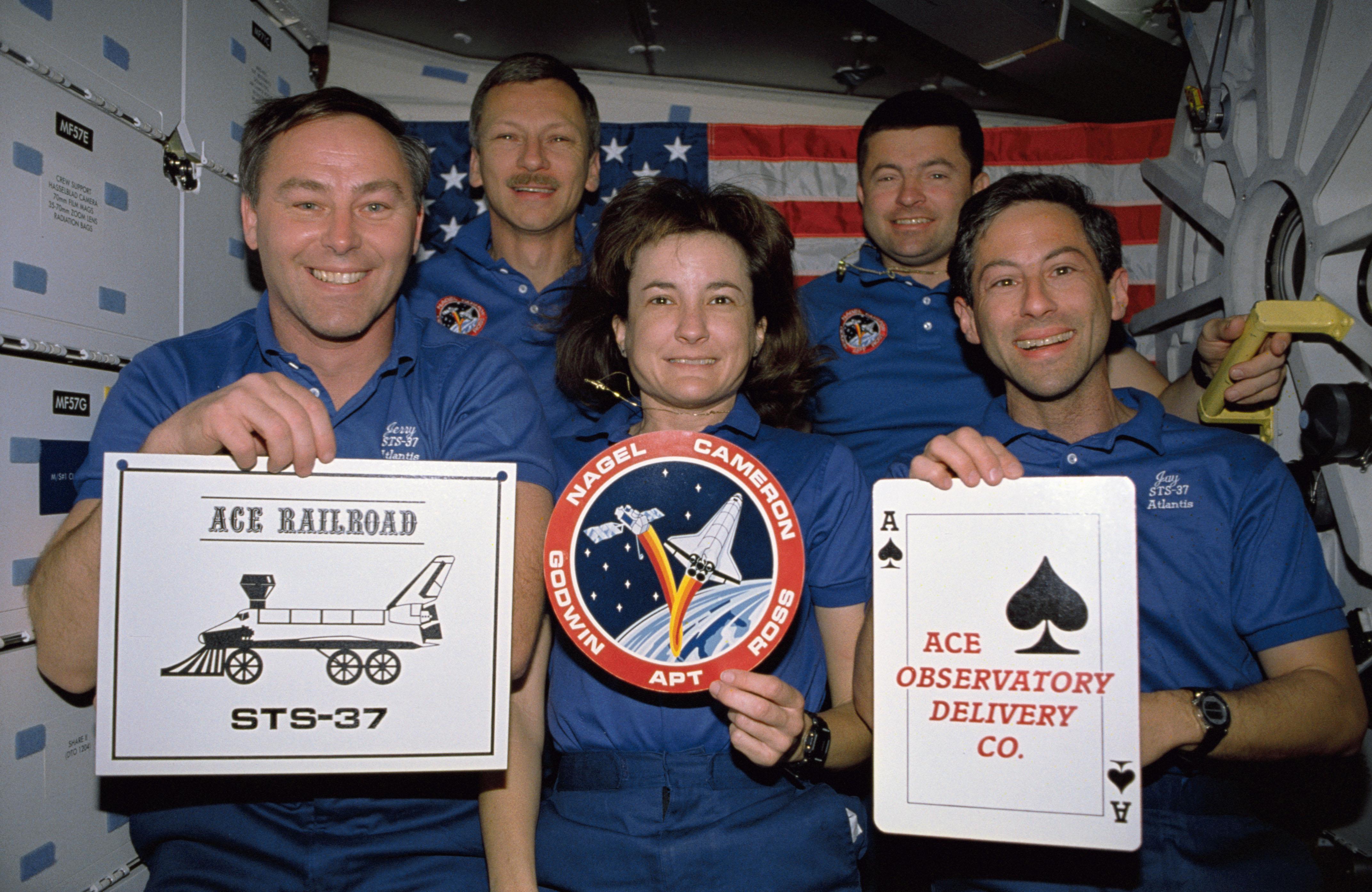 STS-37 Crew