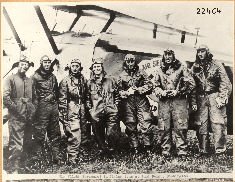 The Douglas World Cruiser World Flight Crews