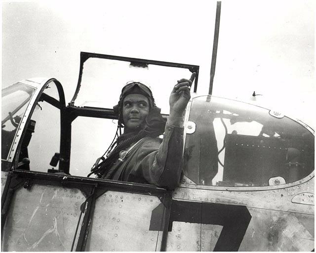 Benjamin O. Davis Jr. in P-51