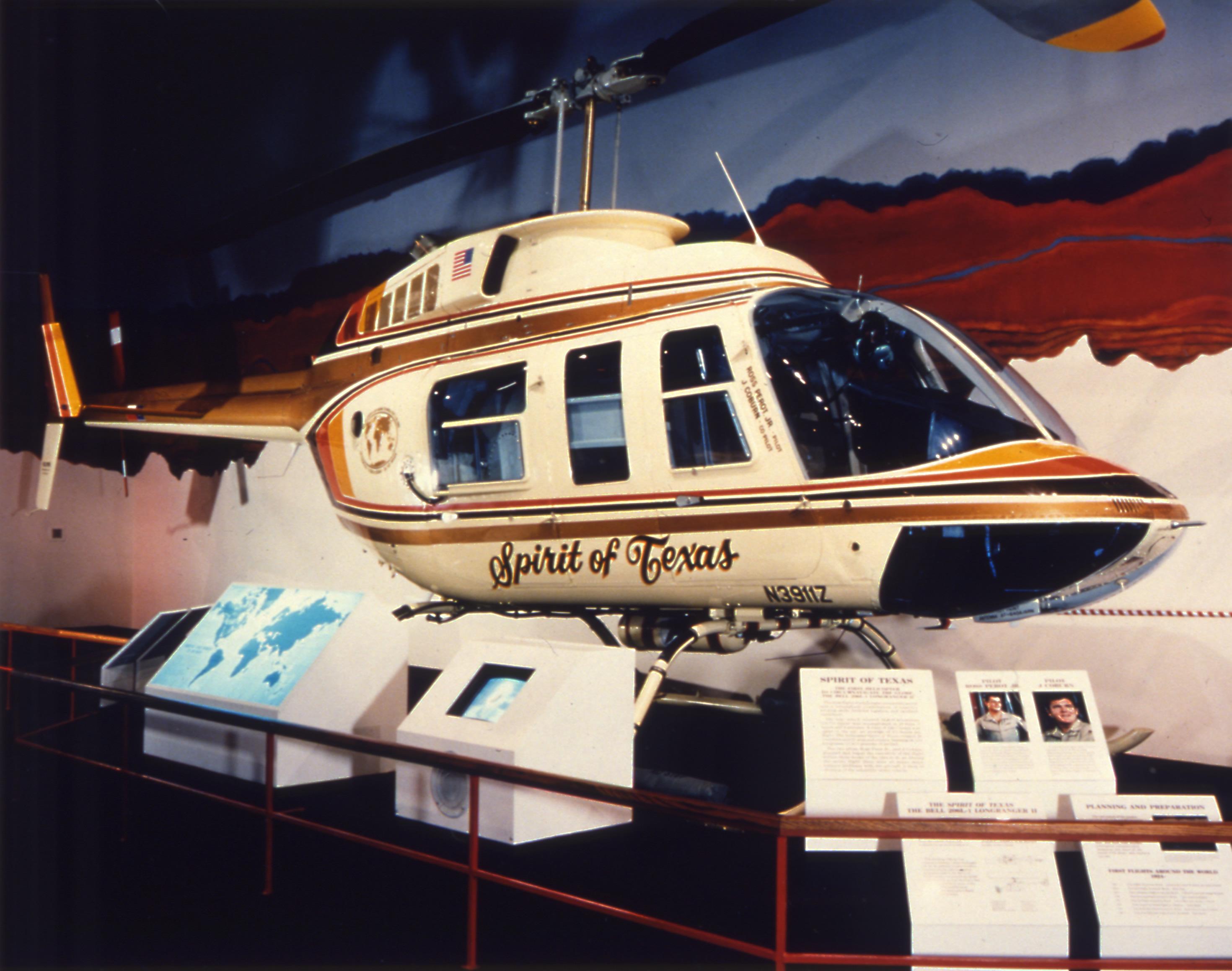 Bell 206L LongRanger Spirit of Texas