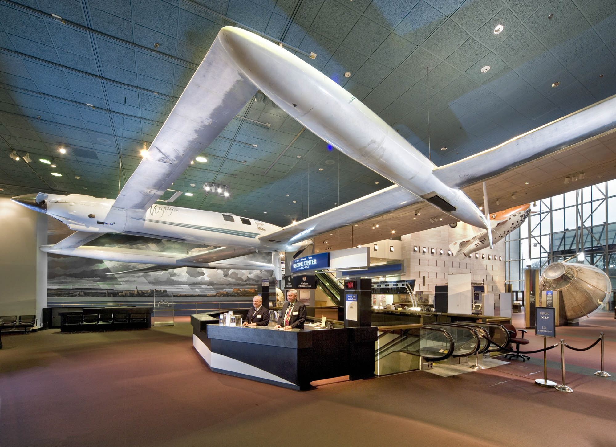 Rutan Voyager in Museum