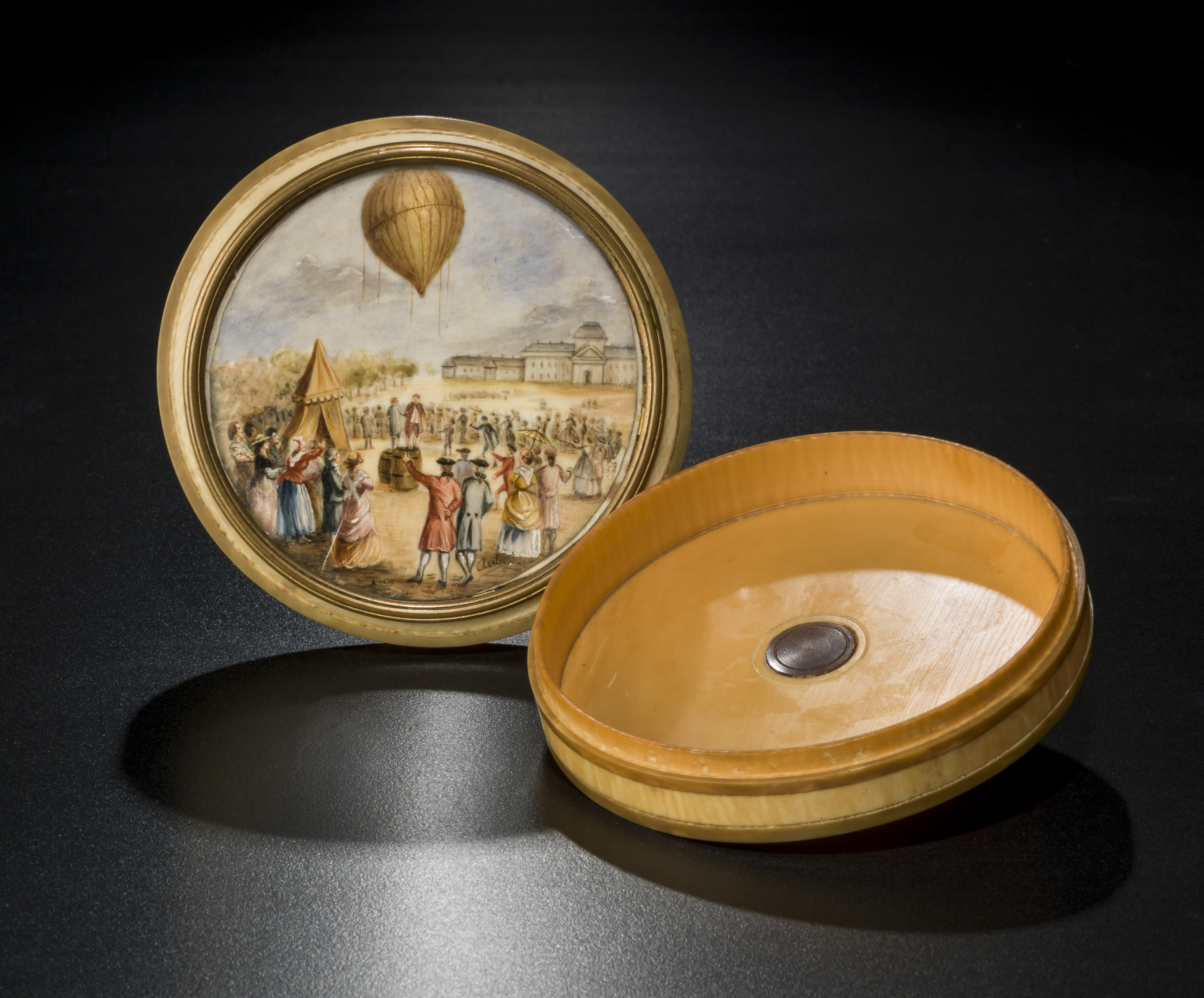 Ivory Snuff Box from the Kendall Collection