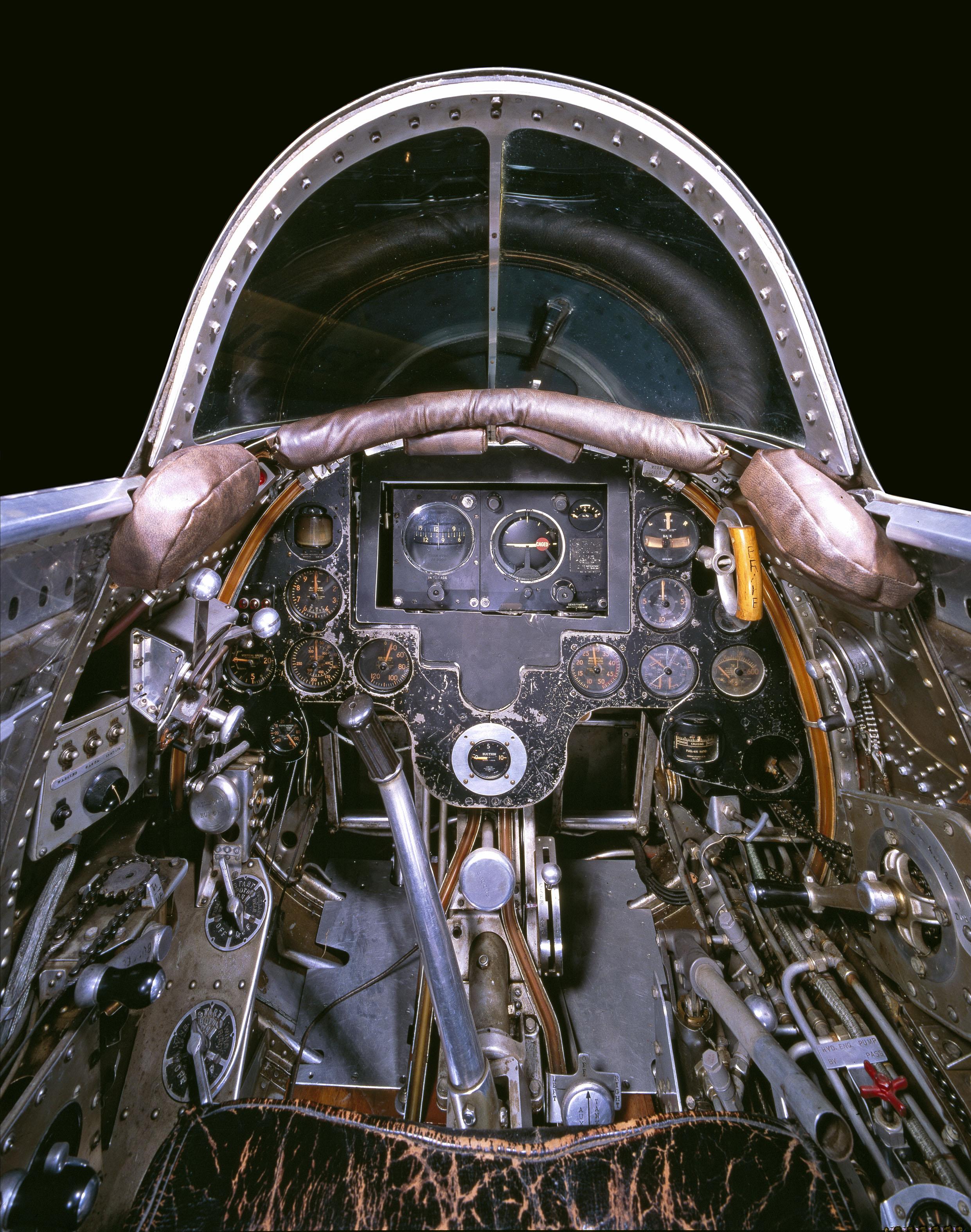 Hughes H-1B Cockpit