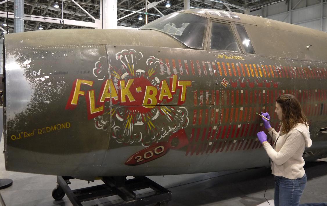 Flak-Bait in Conservation
