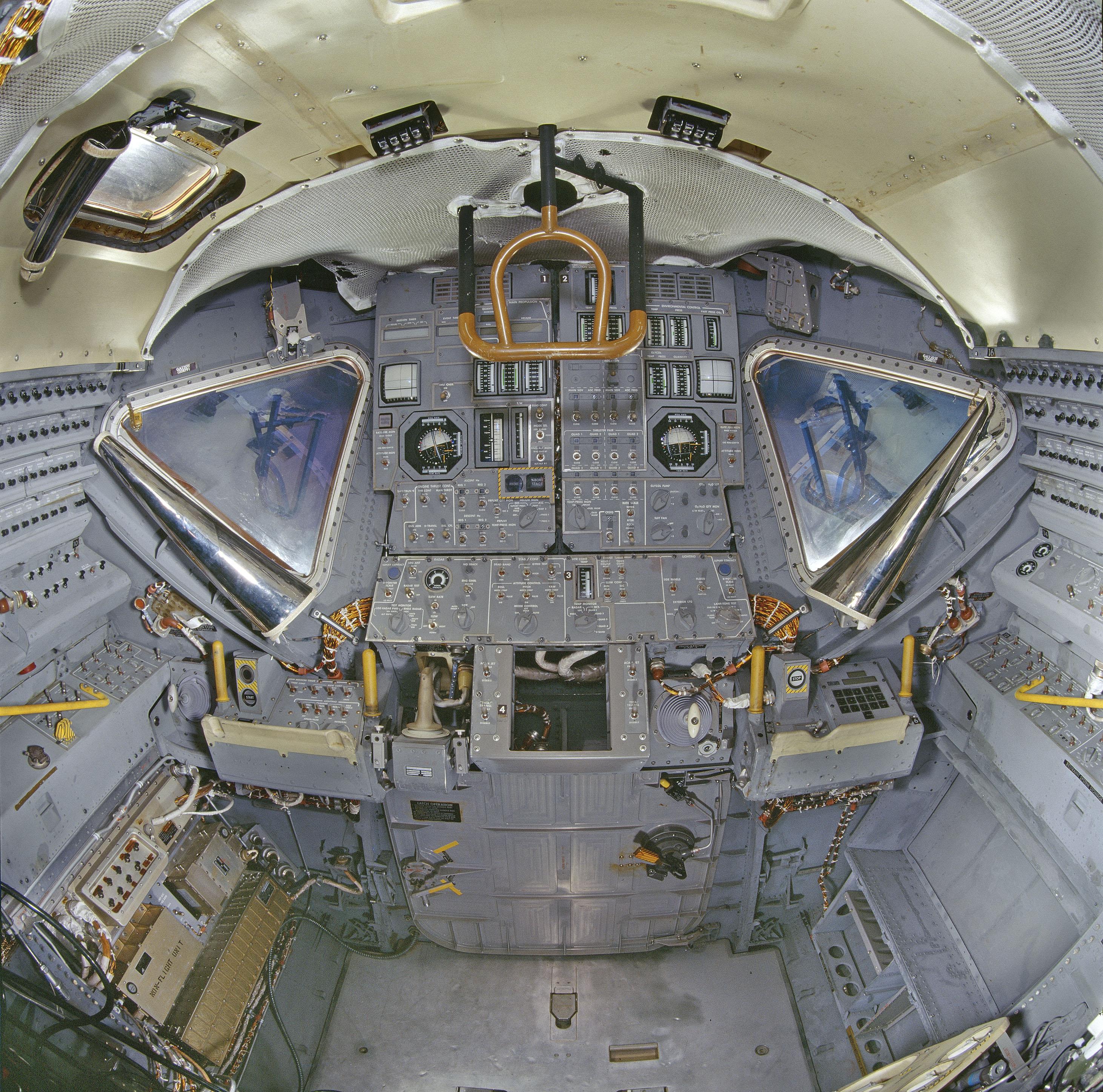 lunar module in space - photo #32
