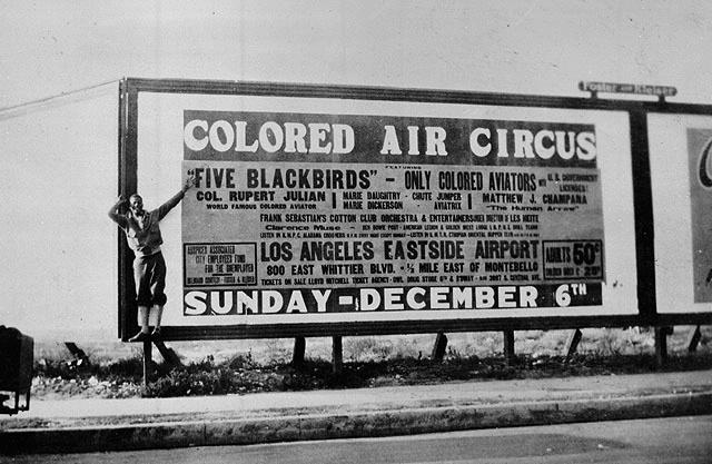 """Billboard: """"Colored Air Circus"""""""