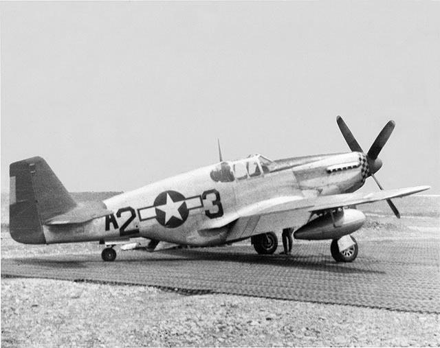 P-51 airplane
