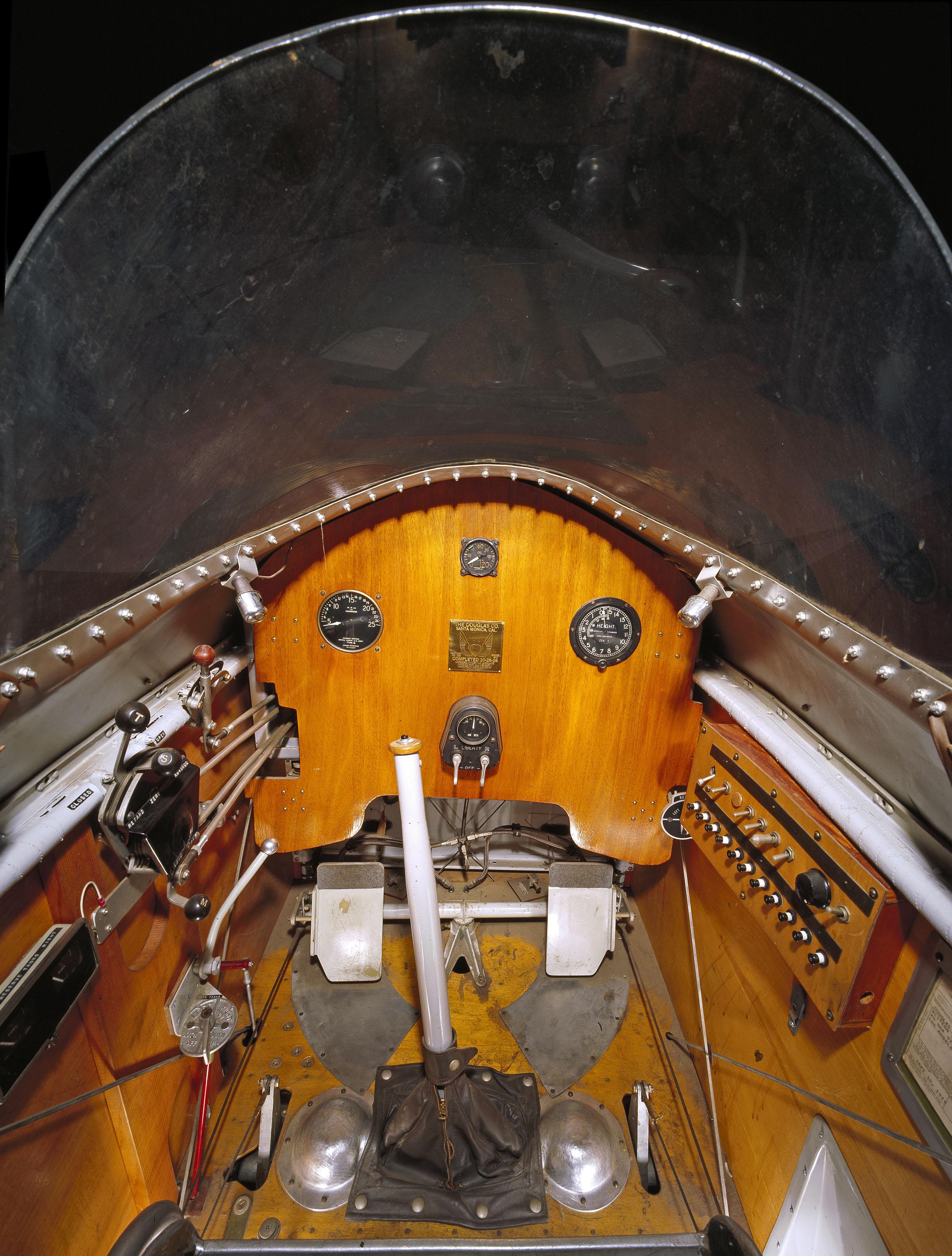 Douglas M-2 Cockpit