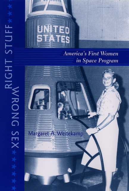 Book cover: Right Stuff, Wrong Sex