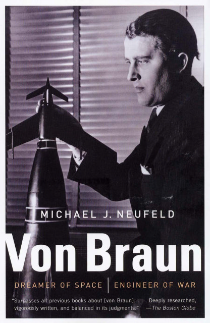 Book cover: Von Braun paperback