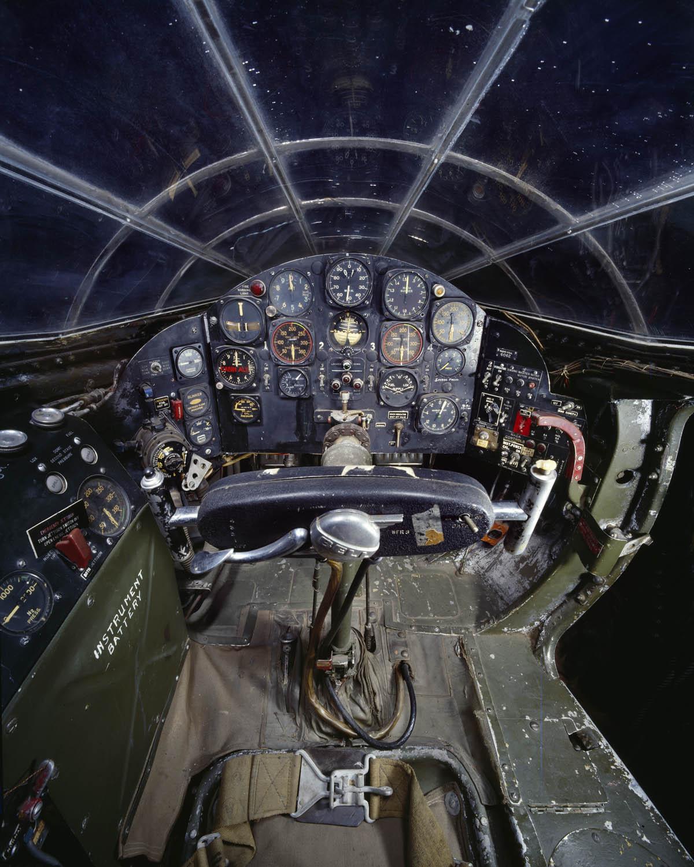 Bell X-1 Cockpit