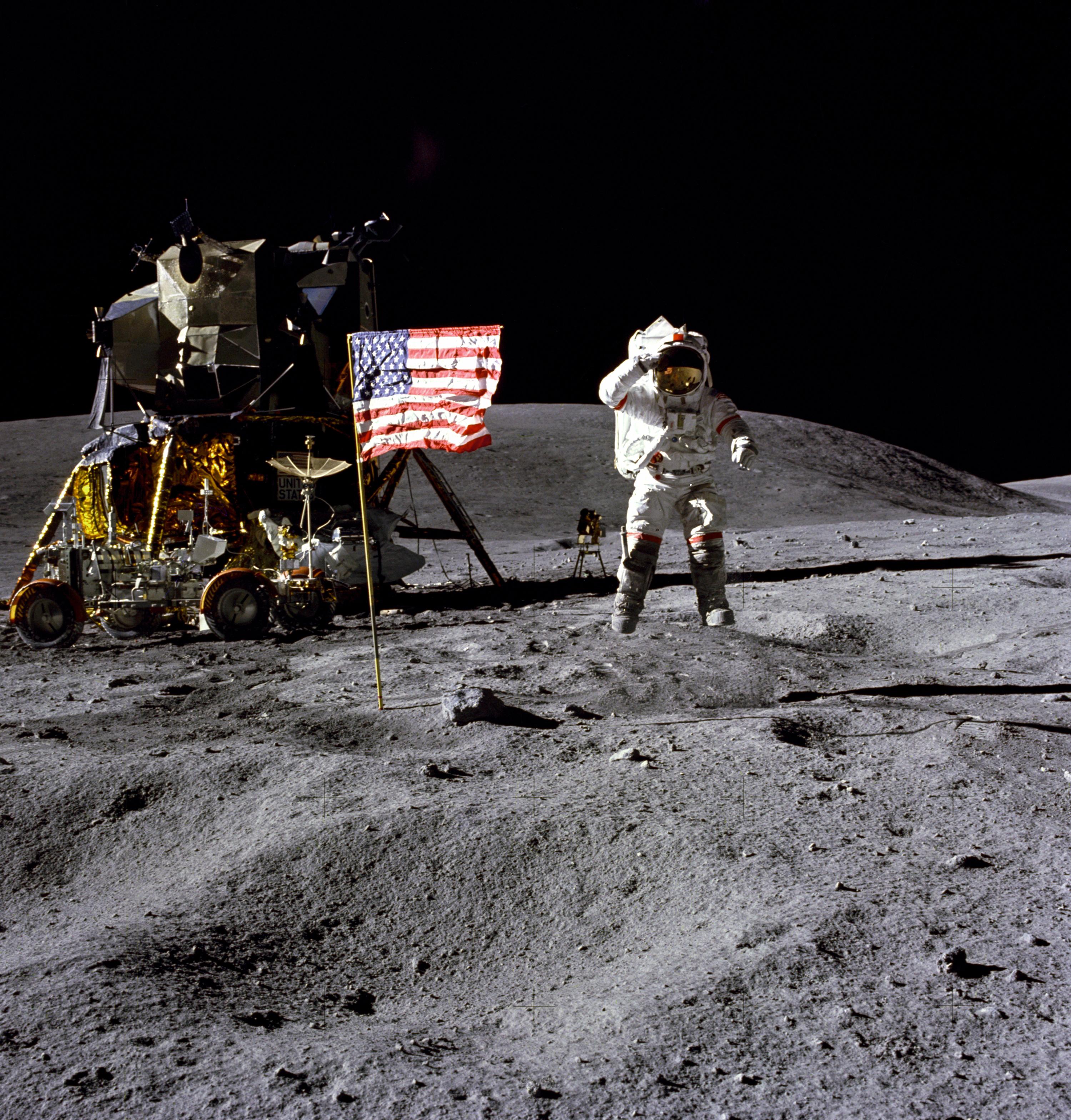 Apollo 16, Astronaut John Young