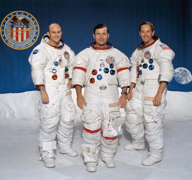 Apollo 16 Astronauts - Mattingly, Young, Duke