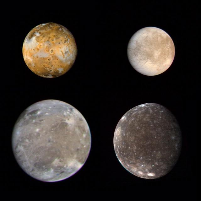 Jupiter - Galilean Satellites