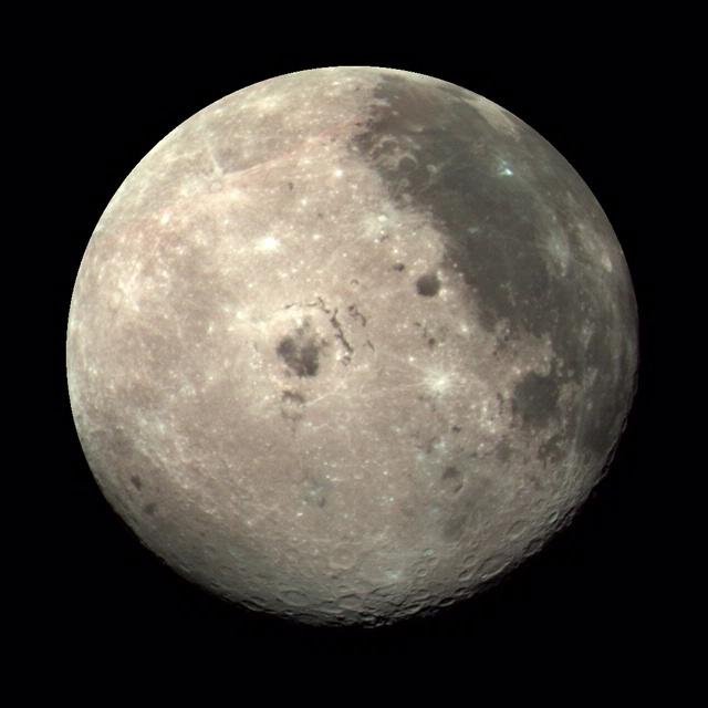Moon Color Composite