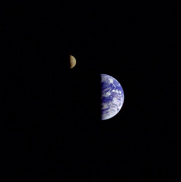 Earth - Moon Conjunction