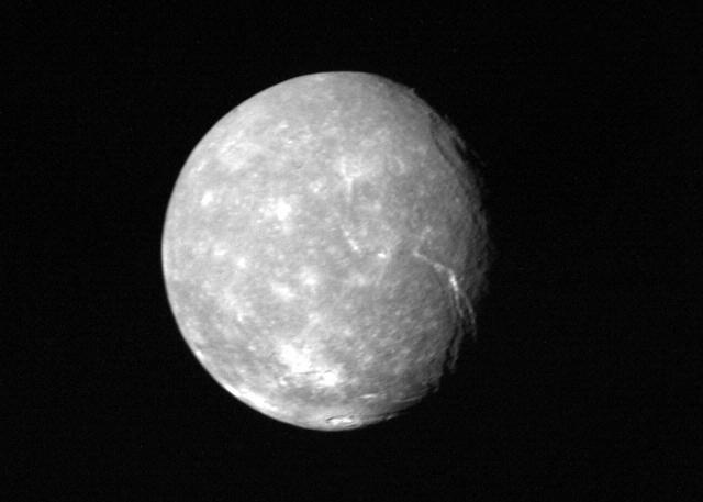 Uranus - Full-disk View of Titania