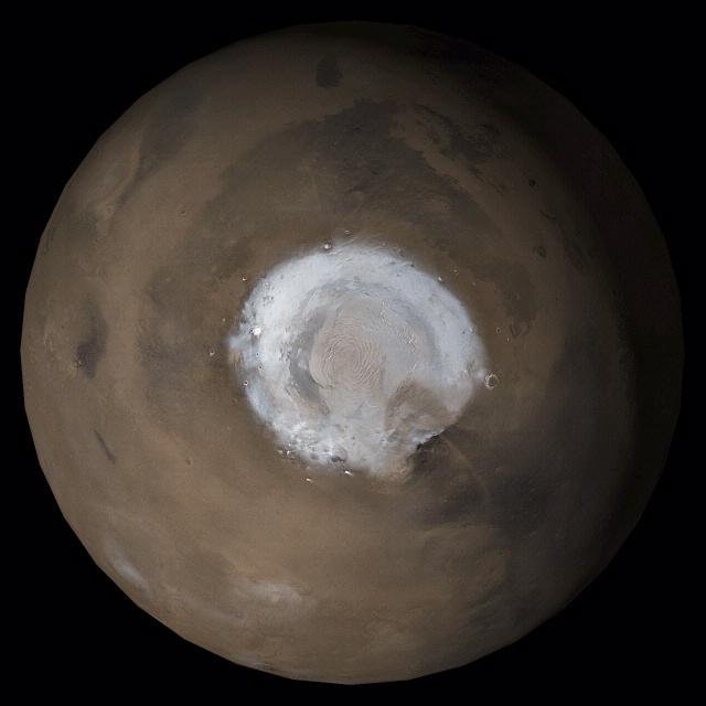 Mars North Polar Region