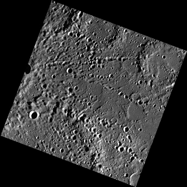 Mercury's Rivers of Craters