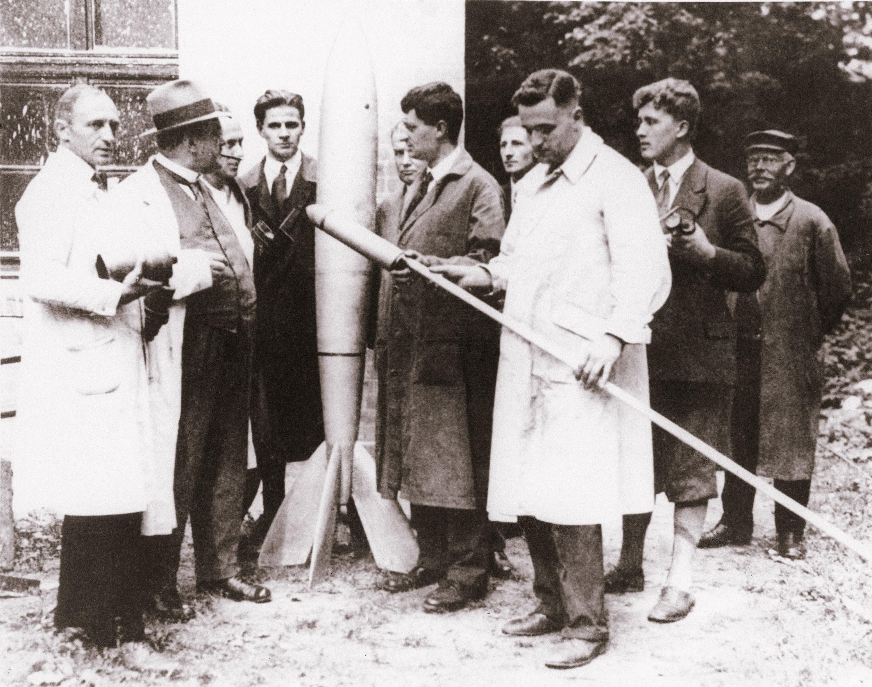 Hermann Oberth and German Rocket Societies