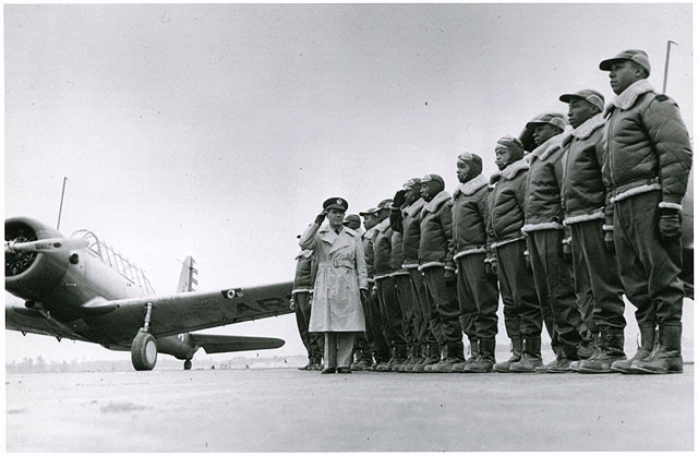First cadets, Tuskegee