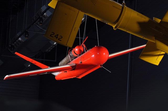 Katydid Target Drone, McDonnell Space Hangar