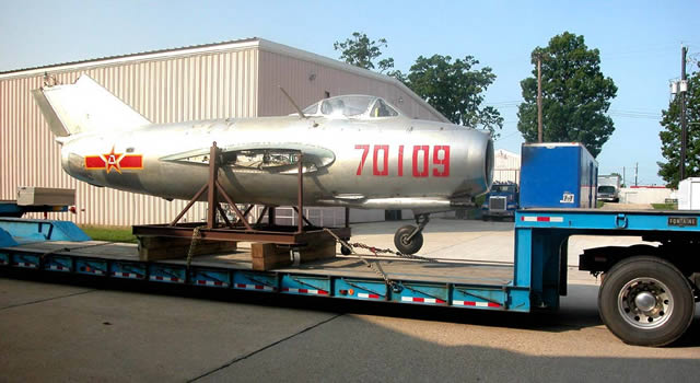 MiG-15 ready to move