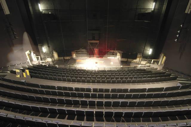 The Udvar-Hazy Center IMAX Theater