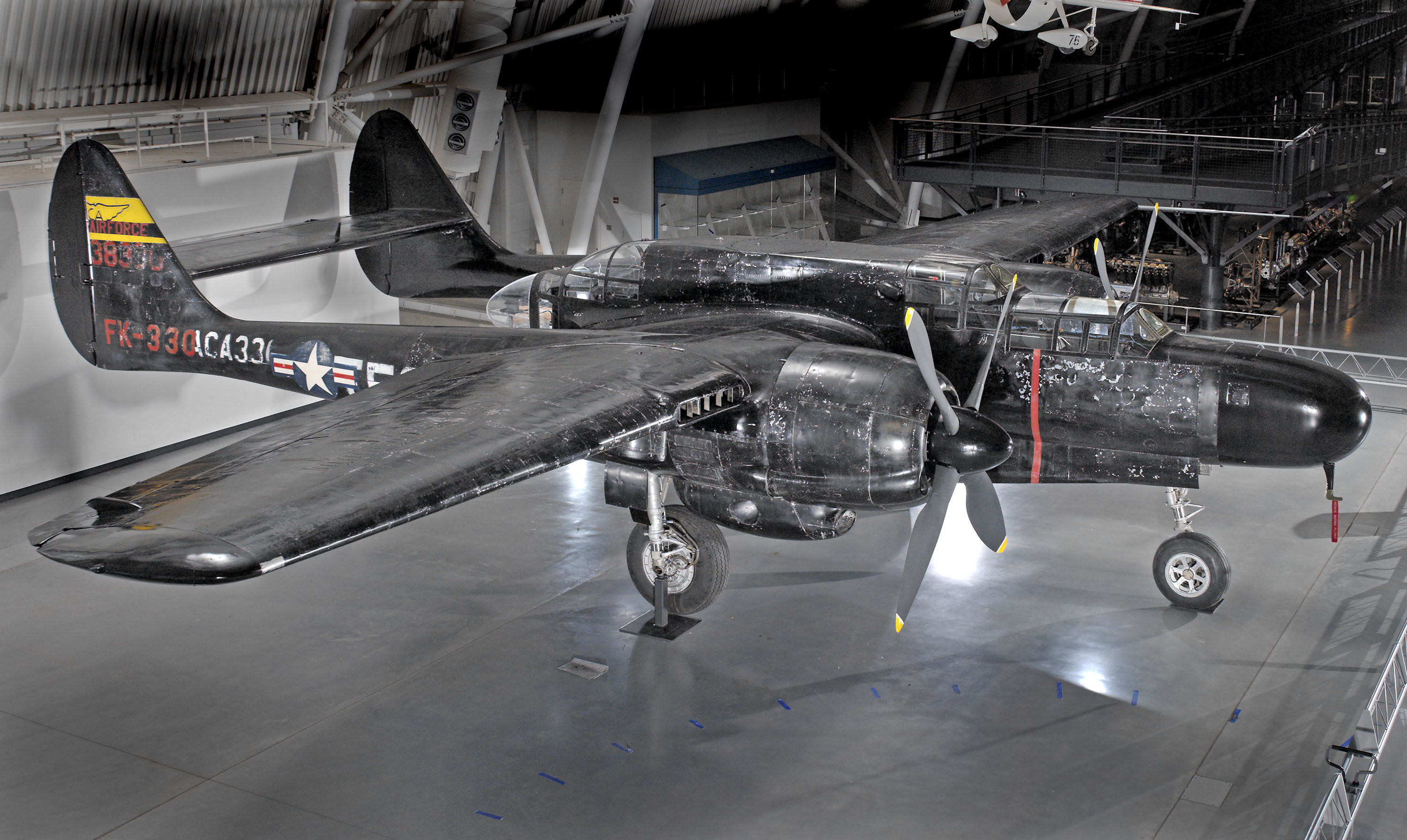 Northrop P-61C Black Widow at the Udvar-Hazy Center